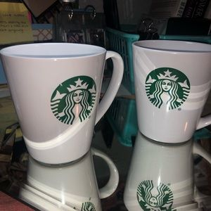 Made in Seattle💚 (2) Starbucks Coffee Cups